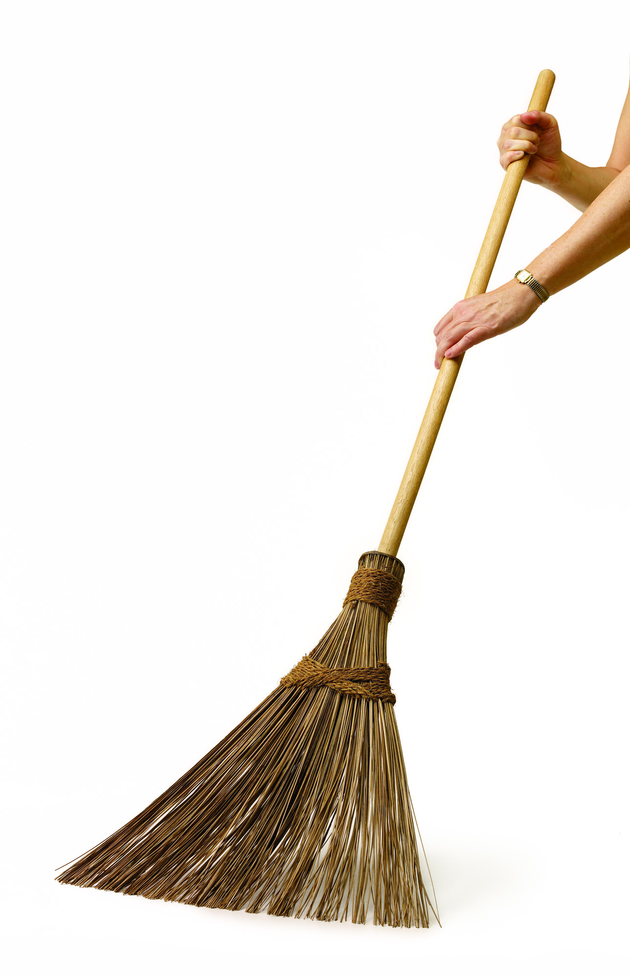 how to clean new broom