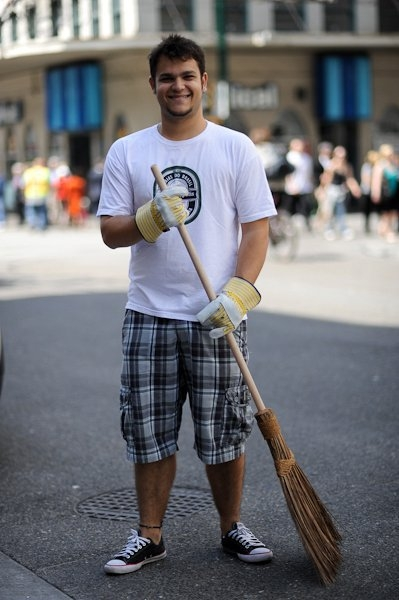 The Original Garden Broom | Cleaning up the Vancouver Riot | Picture 5